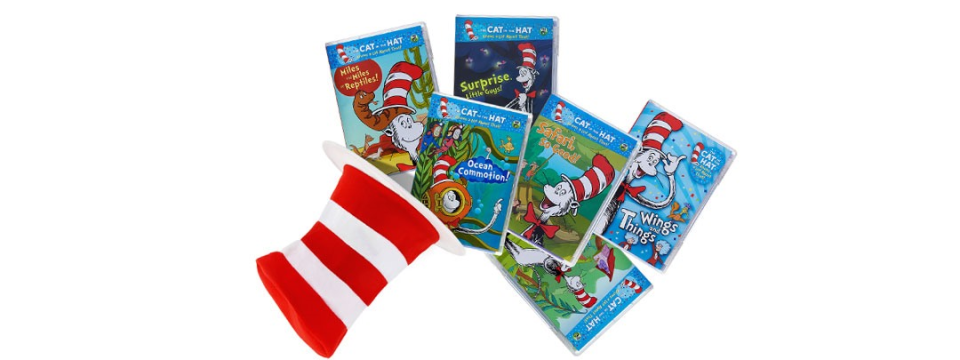 69% Off Dr. Seuss Cat in the Hat 6 DVD Bundle, Only $12.99